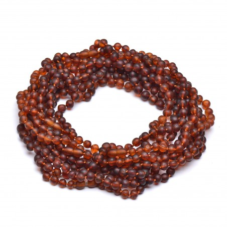 10 Raw Amber Necklaces for Adult - Amber Wholesale - 100% Genuine Amber Beads