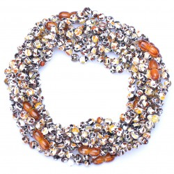 Amber Wholesale - Handmade Baby Teething Necklaces with Amber - Safety Knotted