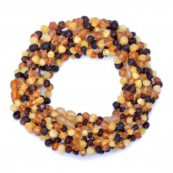 Amber Wholesale - True Baltic Amber Handmade Teething Necklaces for Babies - Safety Knotted - Genuine Amber
