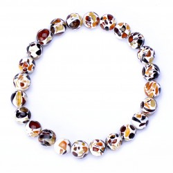 Stylish Colorful handmade Bracelet with amber for Adult - 100% Genuine Baltic Amber Beads