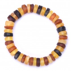 Stylish Amber handmade Bracelet for Adult - 100% Genuine Raw Baltic Amber Beads