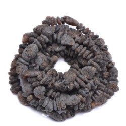 RAW Amber Bracelets Wholesale 10pcs. - Handmade Bracelets - Genuine Baltic Amber