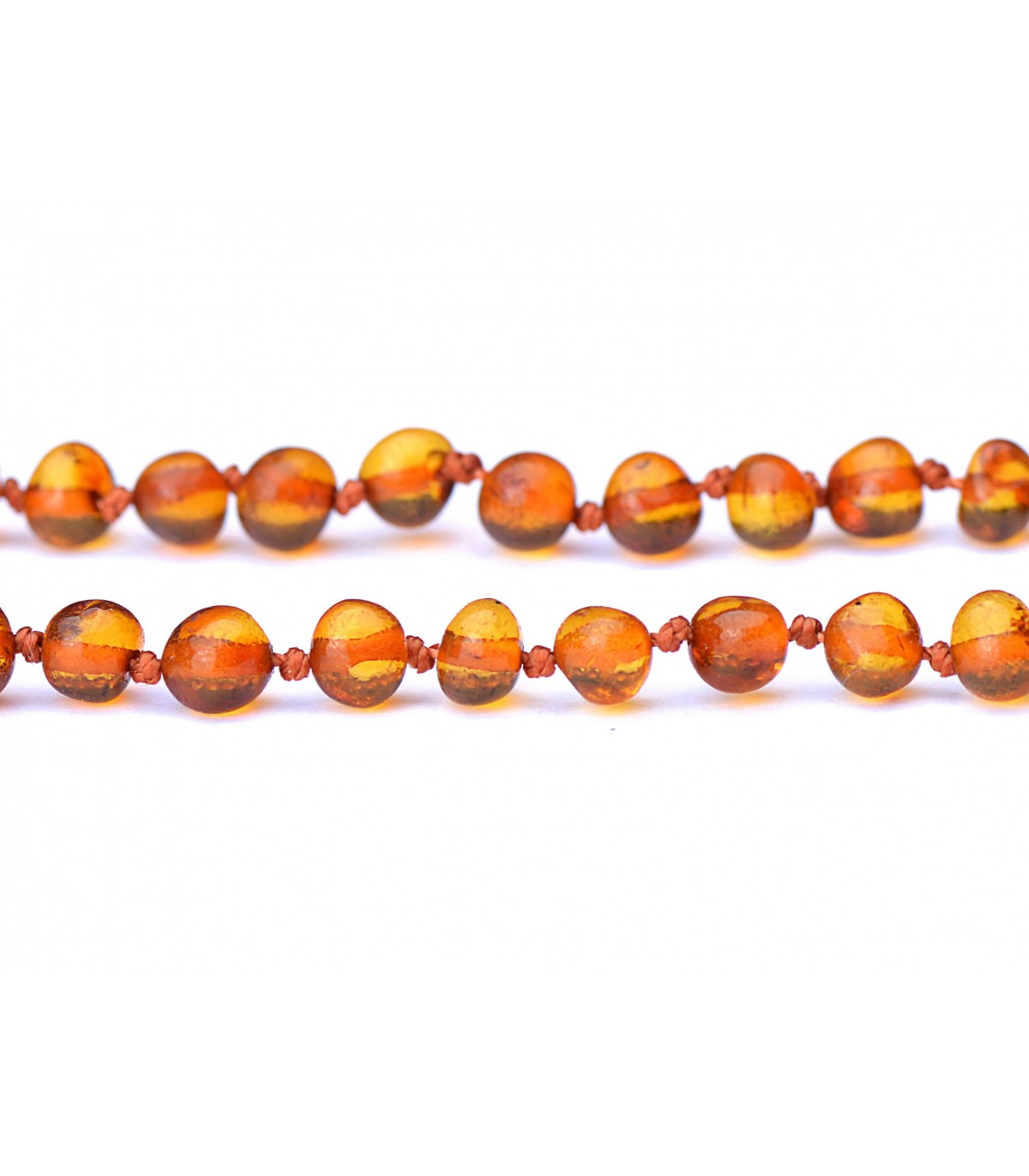 Handmade Baltic Amber Teething Necklace For Babies