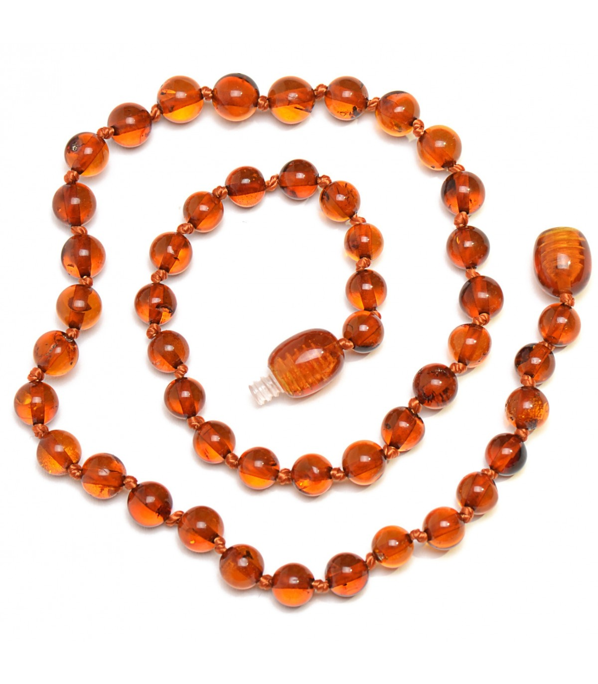 Baltic Amber Handmade Teething Necklace For Babies