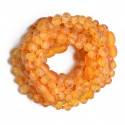 Amber Wholesale - Ten Amber Teething Bracelets - Anklets for Babies - Safety Knotted - Raw Genuine Baltic Amber - Honey Color
